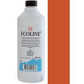 ECOLINE 490 ML kleine fles SIENNA GEBRAND (411)