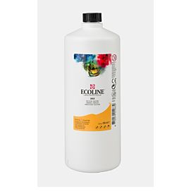 ECOLINE - 1 LITER GROTE FLES - donkergeel  (202)
