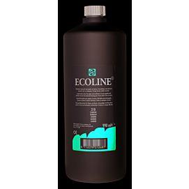 ECOLINE 1 LITER GROTE FLES karmijn (318)
