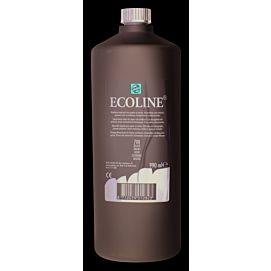 ECOLINE 1 LITER GROTE FLES zwart (700)