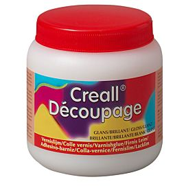VERNISLIJM CREALL-DECOUPAGE  glanzend 250 ML