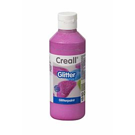 CREALL-GLITTER VERF 250 ML ROSE