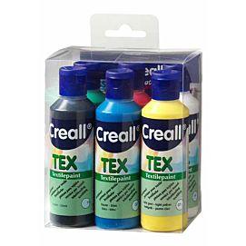 CREALL-TEX VERF  6 KLEUREN X 80 ML
