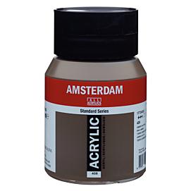 ACRYLVERF - amsterdam - 500 ML - OMBER NATUREL (408)