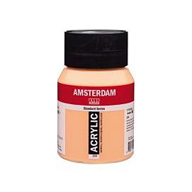 ACRYLVERF - amsterdam - 500 ML - NAPELSGEEL ROOD (224)