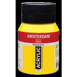 ACRYLVERF - amsterdam - 500 ML - TRANSPARANT GEEL MIDDEL (272)