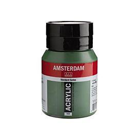 ACRYLVERF - amsterdam - 500 ML - OLIJFGROEN DONKER (622)