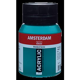 ACRYLVERF - amsterdam - 500 ML - PHTALOGROEN (675)