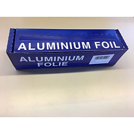 ALUMINIUMFOLIE grote rol  250M blauwe doos