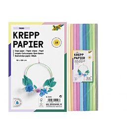 CREPEPAPIER - 200 X 50 CM - KL.ASS. - Trend-kleuren