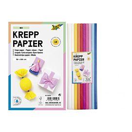 CREPEPAPIER - 200 X 50 CM - KL.ASS. - Mix-kleuren