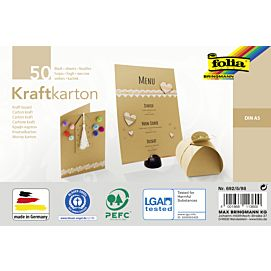 KRAFTPAPIER 230G FT. A5