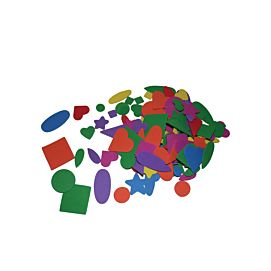 RUBBERVORMEN - GEOMETRISCH ASS. - Intensieve kleuren