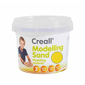MODELLEERZAND - CREALL MODELLING SAND - 750 G - GEEL