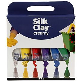 BOETSEERKLEI - SILK CLAY CREAMY SET A