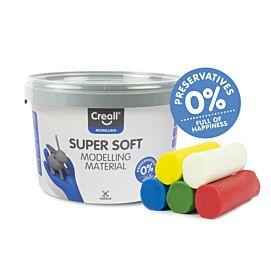 BOETSEERKLEI - CREALL-super soft - 1750 GR KL. - ASS.