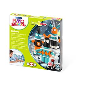 BOETSEERKLEI FIMO  'kids' 'ROBOT'