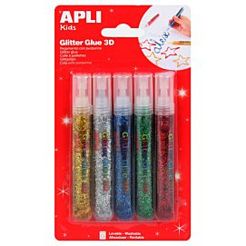 GLITTER GLUE METALISEE (APLI)