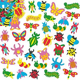 FOAM STICKERS INSECTEN
