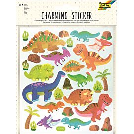CHARMING STICKERS - KIDS III - Dino's en de ruimte