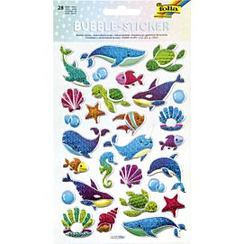 FANTASIE BUBBLE - STICKERS SEALIFE