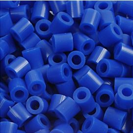 STRIJKPARELS MEDIUM ( 5 X 5 MM ) DONKERBLAUW