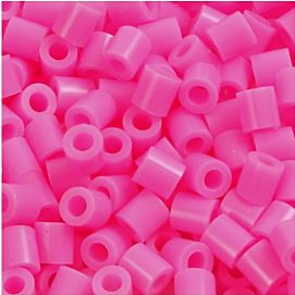 STRIJKPARELS MEDIUM ( 5 X 5 MM ) ROZE