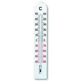 THERMOMETER 40 CM OP PLASTIC PLAAT