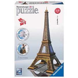 PUZZEL 3D - Eiffeltoren * Parijs * - 216 stukken