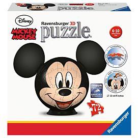 PUZZEL 3D - Disney Mickey Mousse met oren - 72 stukken