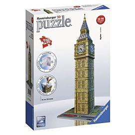 PUZZEL 3D - Big Ben * Londen * - 216 stukken