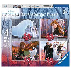 PUZZEL - Frozen: Liefde en vriendschap - 12+16+20+24 stukjes