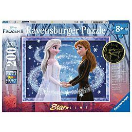 PUZZEL XXL - Frozen Starline zussen voor altijd - 200 stukken