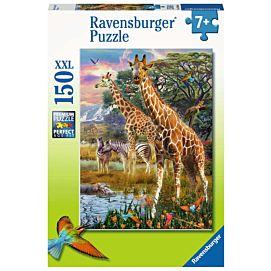 PUZZEL XXL - Kleurrijke savanne - 150 stukken