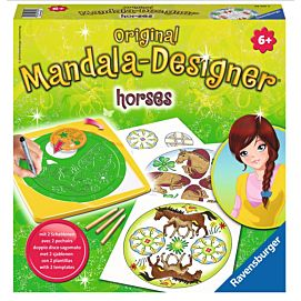 MANDALA DESIGNER: HORSES