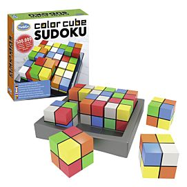 THINKFUN : Color Cube Soduko