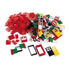 LEGO SYSTEM RAMEN, DEUREN EN DAKSTENEN