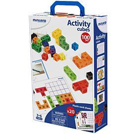 ACTIVITEITENKUBUSSEN - Box incl. 20 kaarten en 1 handleiding