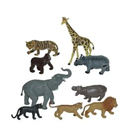 DIEREN JUNGLE - 9 FIGUREN